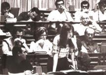 Na Constituinte, em 1976