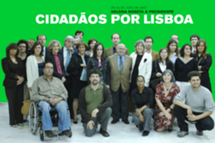 Movimento Cidadãos por Lisboa, com o nosso Mandatário, Galopim de Carvalho, 2007