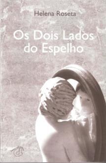 """Capa do livro """"Os dois lados do espelho"""" com escultura de João Cutileiro"""